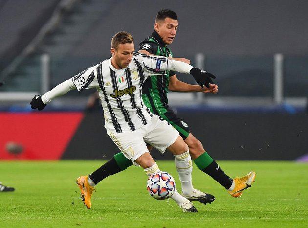 Juventus bojoval ve čtvrtém kole Ligy mistrů s Ferencvárošem