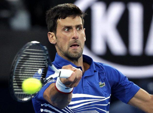 Nejvýše nasazený Novak Djokovič zatím na Australian Open plní roli favorita.
