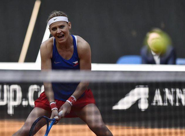 Lucie Šafářová se rozloučila s fedcupovou kariérou