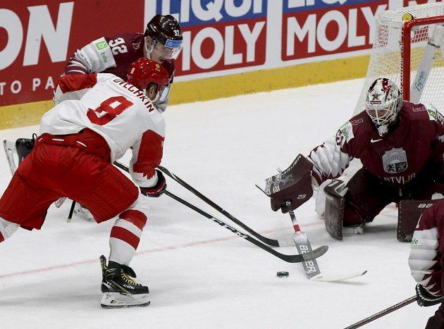Hokejisté Ruska ve druhé třetině skóre otočili