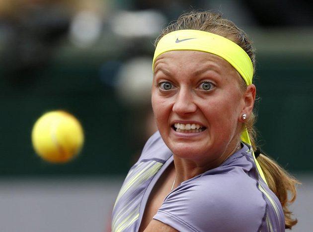 Česká jednička Petra Kvitová porazila v prvním kole French Open domácí Aravane Rezaiovou.