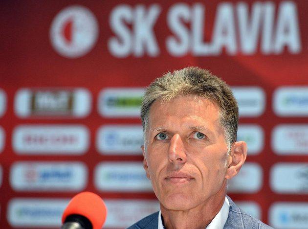 Jaroslav Šilhavý se stal novým trenérem Slavie.