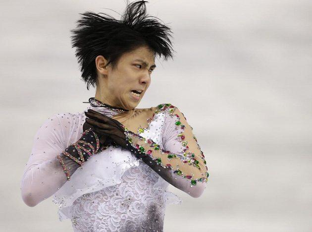 Japonec Juzuru Hanju se stal v Soči olympijským vítězem.