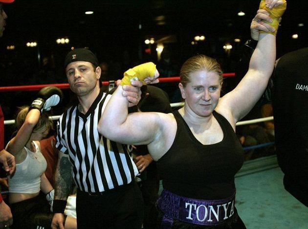 Tonya Hardingová zkoušela také kariéru v boxu.