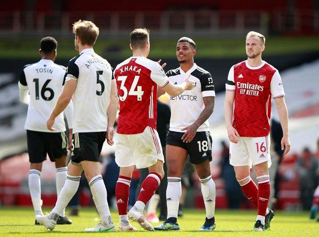 Fotbalisté Arsenalu remizovali v derby s Fulhamem