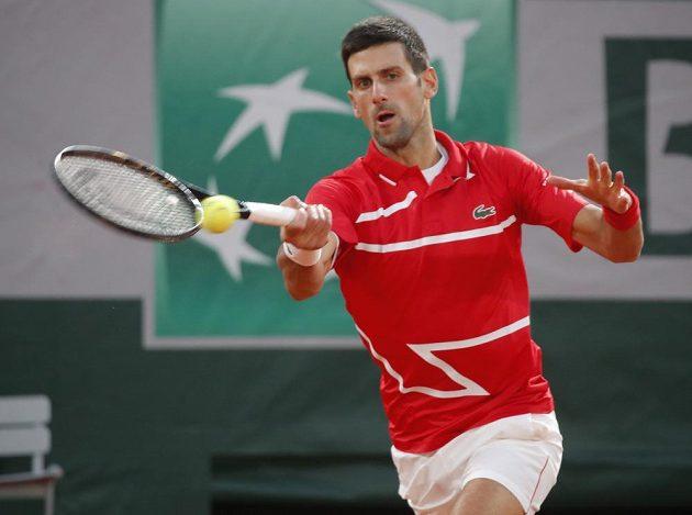 Novak Djokovič v boji o finále French Open