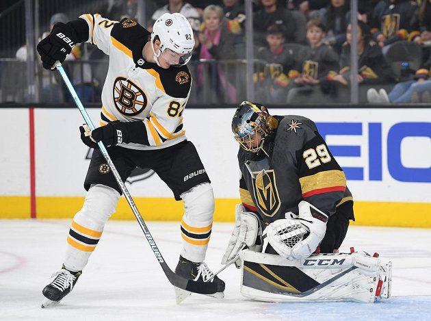 Boston vyhrál na ledě Las Vegas po samostatných nájezdech