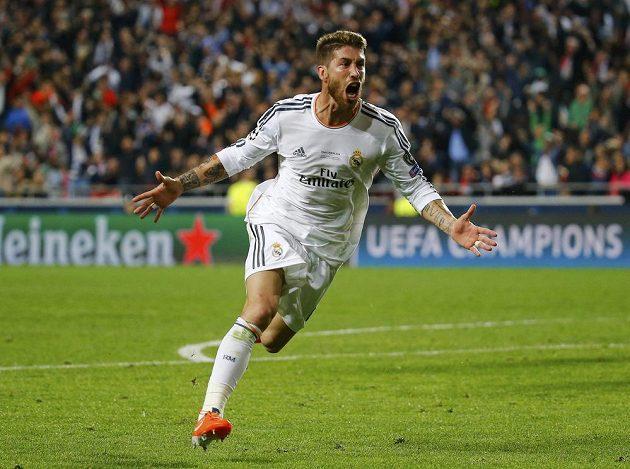 Sergio Ramos, hrdina Realu, který odvrátil konec finále LM už po druhém poločase.