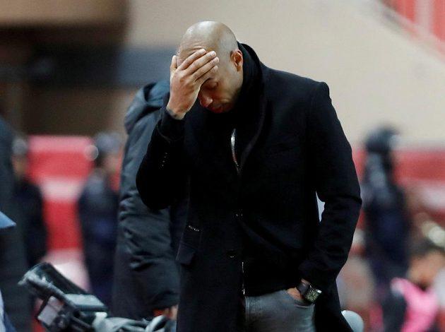 Rozchod? Monako zbavilo trenéra Thierryho Henryho dočasně všech pravomocí a bude jednat o jeho další budoucnosti u týmu.