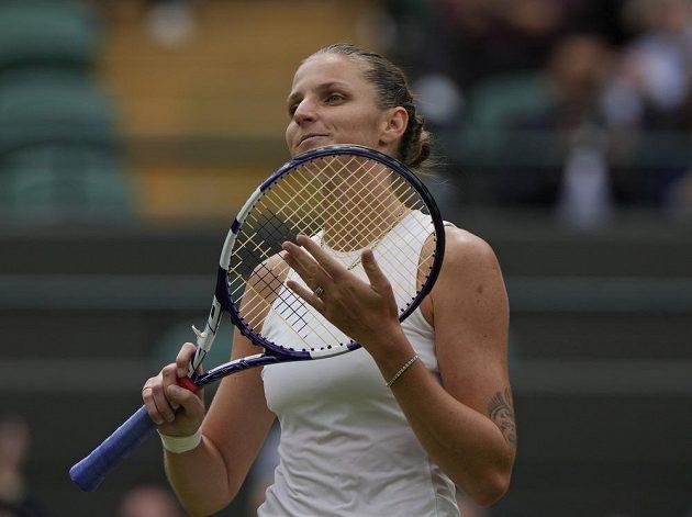 Karolína Plíšková si zahraje ve Wimbledonu o finále.