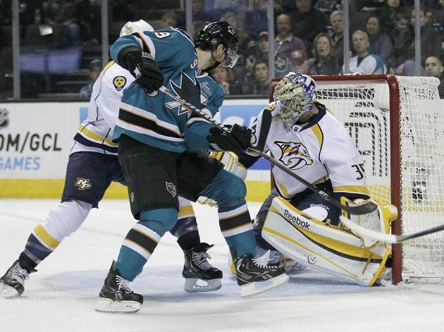 Havlát vyzrál na Fina Rinneho (loňský kandidát na Vezinovu trofej, která se uděluje nejlepším brankářům NHL) v zápase jen jednou.