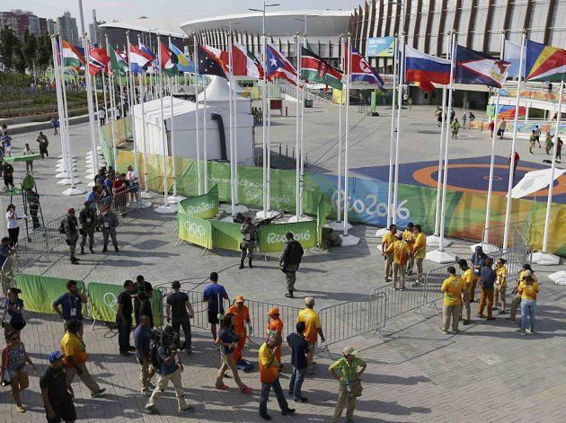 Olympijský park v Riu krátce po nehodě.