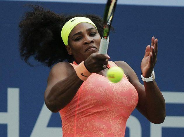 Serena Williamsová učinila na US Open další krok k zisku kalendářního Grand Slamu.