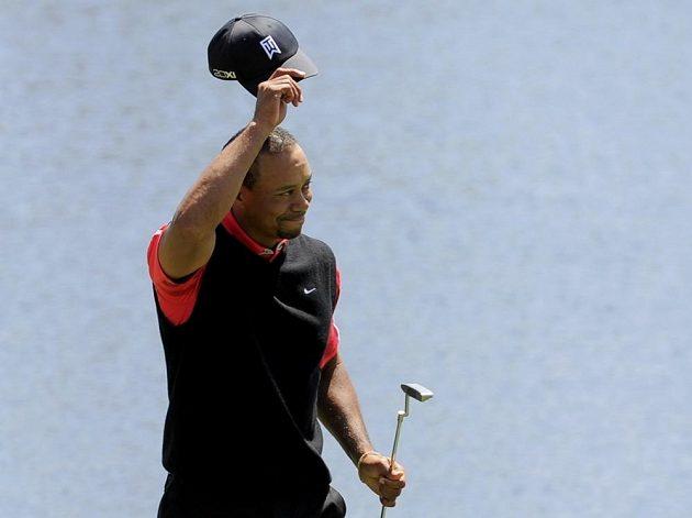 Golfista Tiger Woods se loučí s fanoušky v Orlandu.