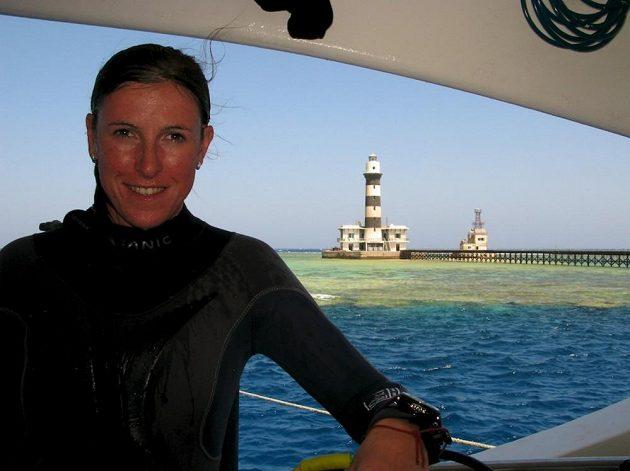 Potápění je další z vášní překážkářky Zuzany Hejnové.