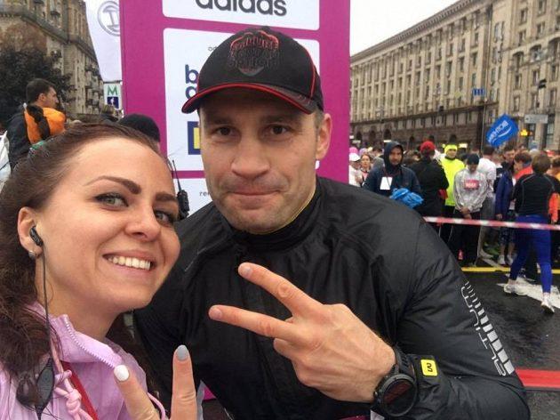 Wizz Air Kyiv City Marathon: Vitalij Kličko byl rovněž na místě.