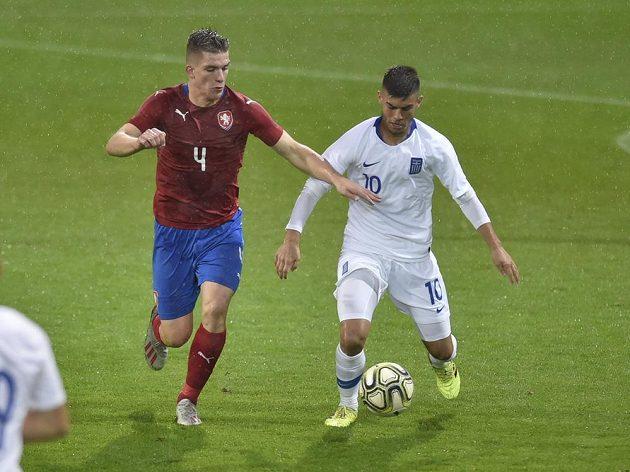 Zleva Libor Holík z České republiky a Jannis Buzukis z Řecka.