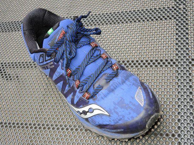 Běžecké boty Saucony Peregrine 7 Arctic - pohled shora.