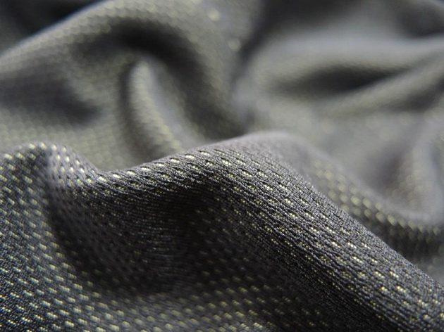Detail trojdimenzionální elastické tkaniny.