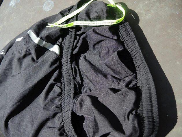Salming Running Shorts - detail vnitřní kapsy.