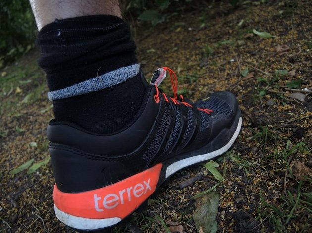 Jestli je nějaká bota zrozena k rychlému běhu v těžkém terénu, je to Terrex.