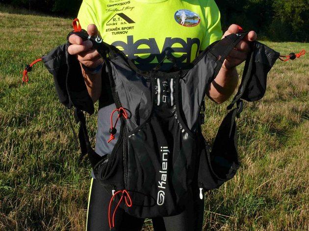 Trailový batoh Kalenji - celkový pohled.