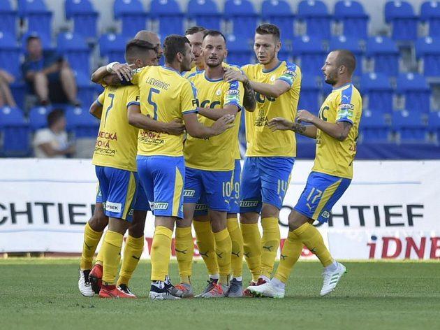Fotbalisté Teplic šli do vedení již ve 3. minutě