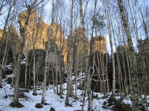 Tiské stěny mají své kouzlo, i když nejste horolezci.