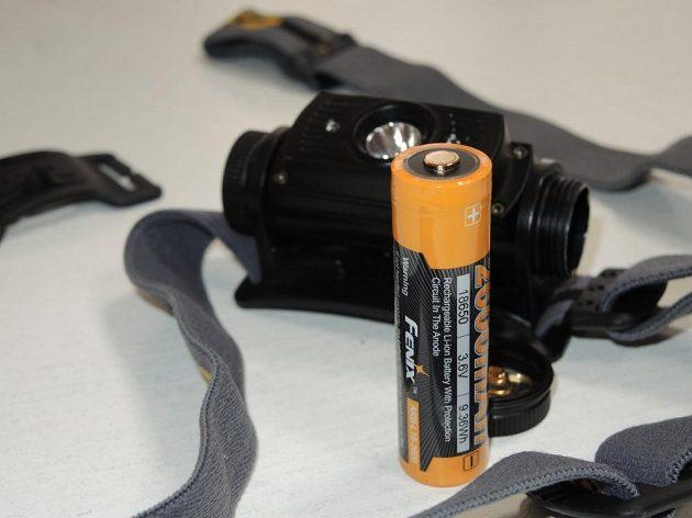 Součástí balení je i kvalitní Li-ion akumulátor.