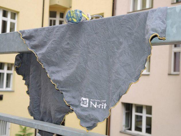 N-rit Super Light Towel: Jemná tkanina rychle schne, dobře absorbuje a bakteriím nedá šanci.
