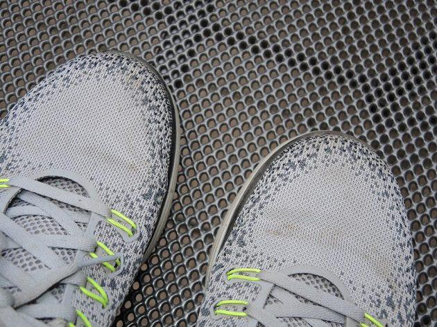 Boty Nike Free RN Distance - jen ty špičky by mohly být o trochu širší.
