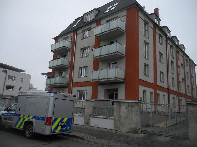 Dům Prostějově, v němž má Petra Kvitová byt.
