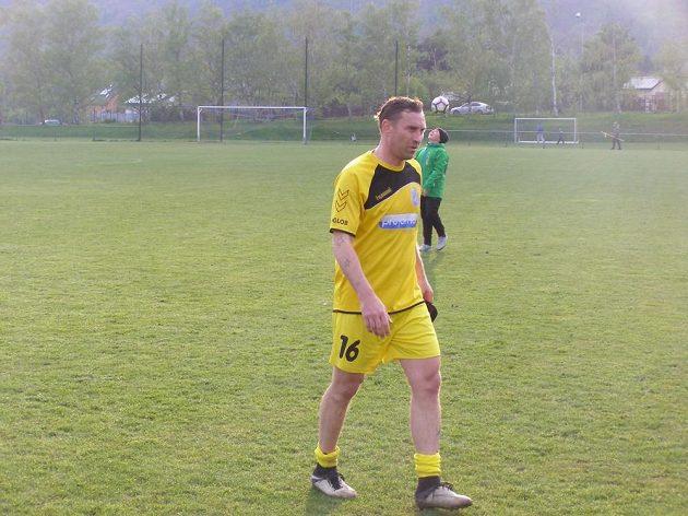 Jan Šimák po prvním utkání v dresu Horního Jiřetína.