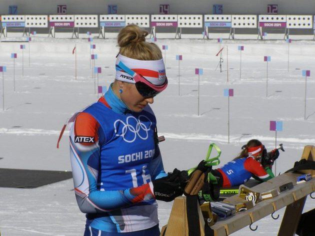 Nejlepší česká biatlonistka Gabriela Soukalová.