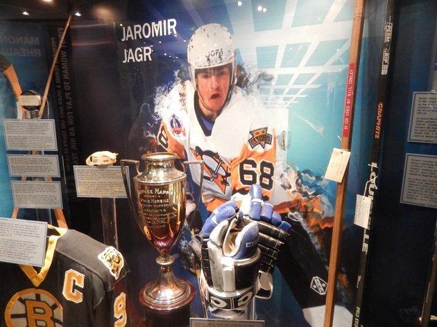 V Torontu nechybí ani vzpomínka na Jaromíra Jágra.