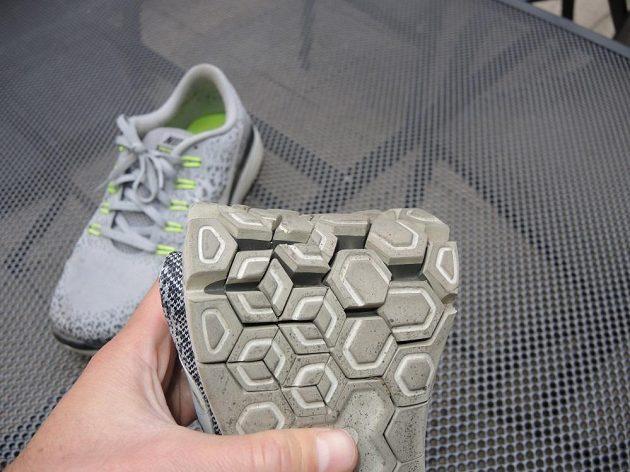 Boty Nike Free RN Distance - segmentace jde opravdu do hloubky.