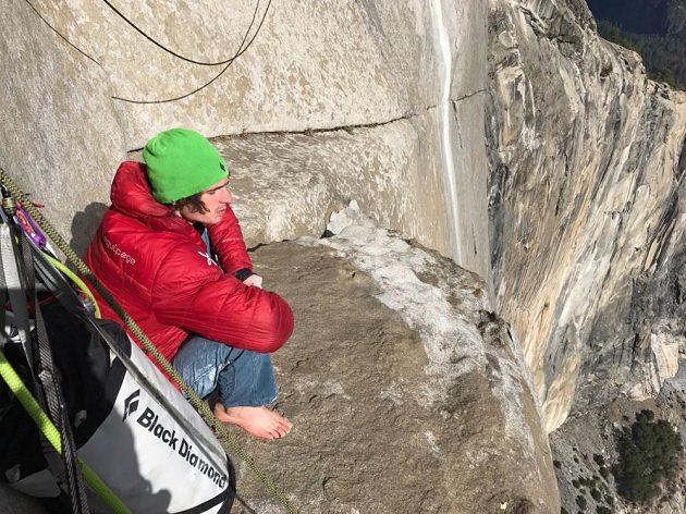 Takový je výhled z Dawn Wall v Yosemitech.