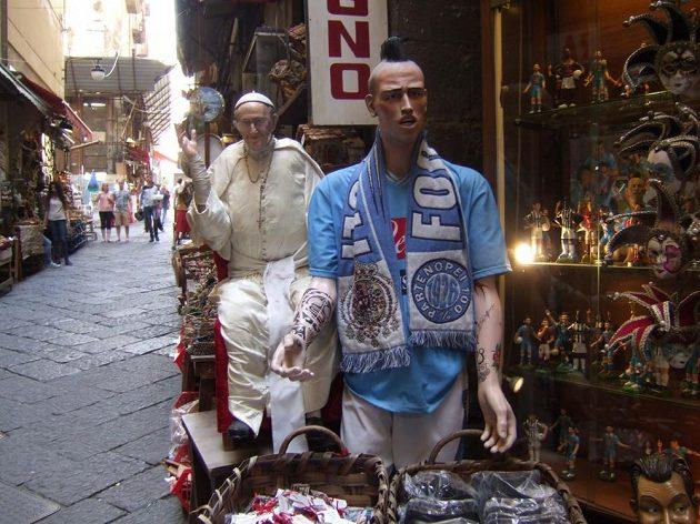 Marek Hamšík je v Neapoli jako fotbalový papež.
