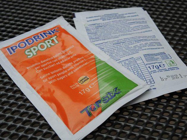b123ebbf360 Ipodrink Sport  Prášek na přípravu hypotonického sportovního nápoje.