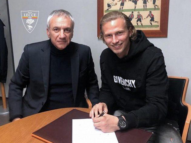 Antonín Barák se na půl roku upsal Lecce.