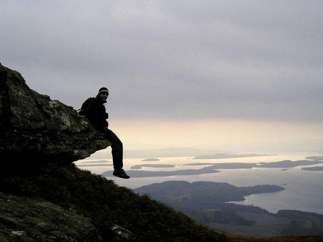 U jezera Loch Lomond.