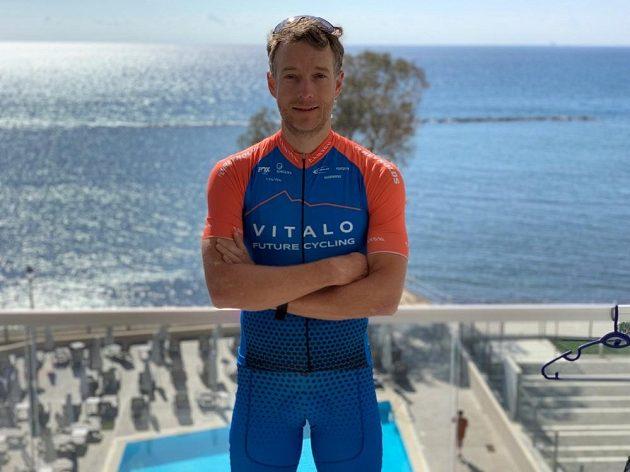 Kristian Hynek z týmu Vitalo Future Cycling.