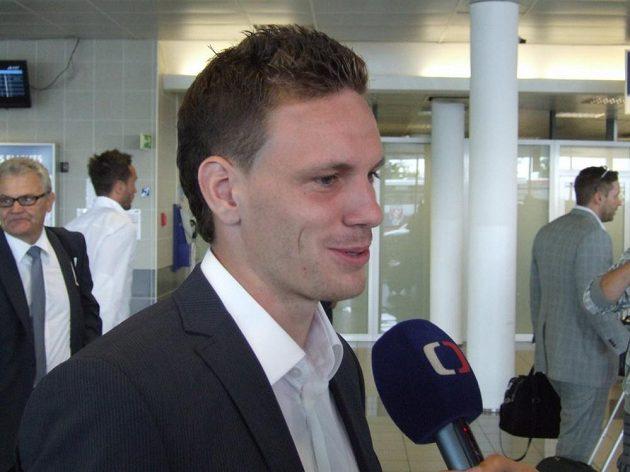 První rozhovor reprezentanta Ondřeje Vaňka...