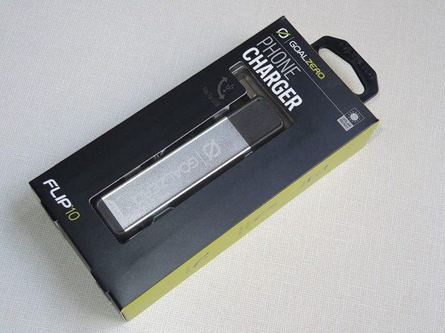 Powerbanka Goal Zero Flip10 v originálním balení.