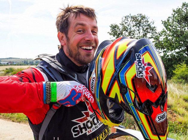 Jan Brabec se mohl po závodu HunGarian Baja usmívat.