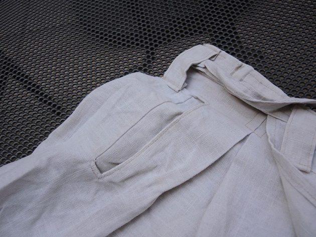 Běžecká suknice Zahálka BS 1.0: Detail standardní kapsy.