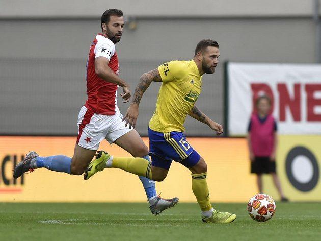 Slavia vstoupila do ligy zápasem ve Zlíně