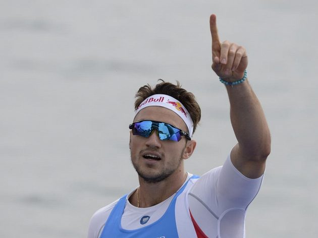 Martin Fuksa po finále na 500 metrů.