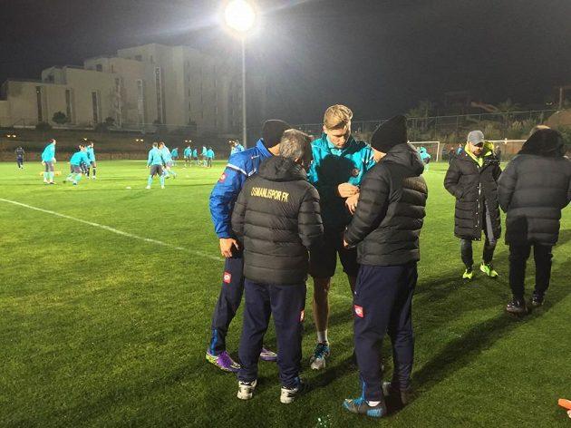 Václav Procházka je už na tréninku pod kontrolou realizačního týmu tureckého Osmanlisporu...