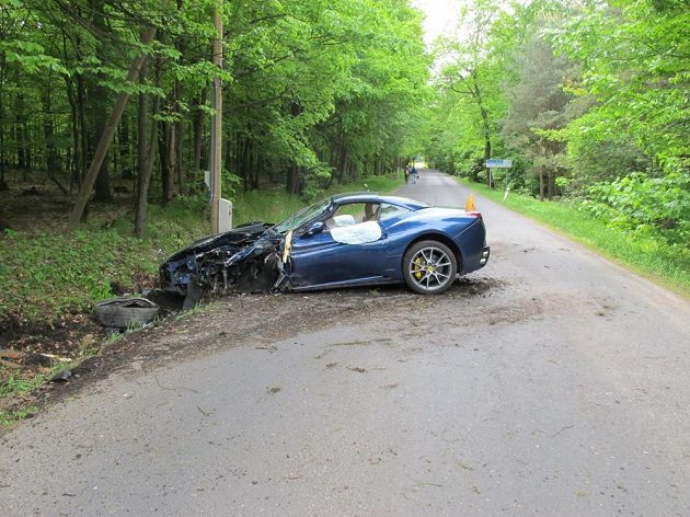 According to the report voracek walked away from this accident